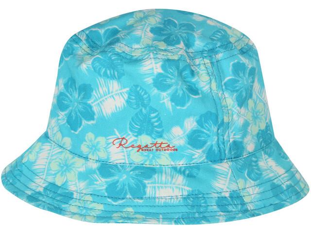 Regatta Crow Hat Kids Horizon Floral Palm Print